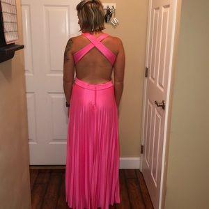 Deb Hot Pink Formal Dress